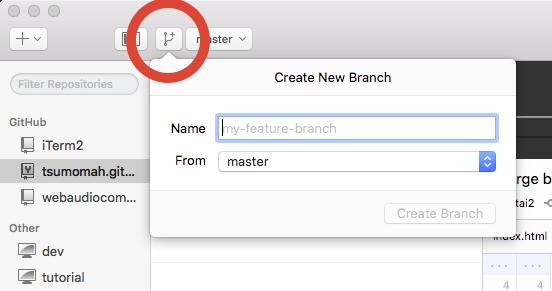 GitHub Client Branching